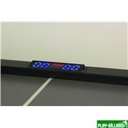Atomic Аэрохоккей «Atomic AH800» 8 ф (244 х 127 х 81 см, черный), интернет-магазин товаров для бильярда Play-billiard.ru. Фото 2