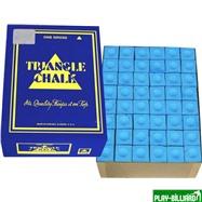 Tweeten Мел «Triangle» (144 шт) синий, интернет-магазин товаров для бильярда Play-billiard.ru