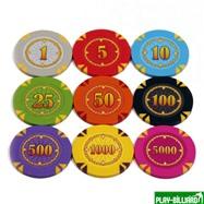 Набор для покера Compas на 500 фишек, интернет-магазин товаров для бильярда Play-billiard.ru. Фото 6