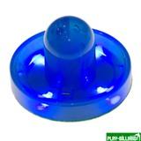 Weekend Бита для аэрохоккея LED «Atomic Top Shelf / Lumen-X Laser» D96 мм, синяя, интернет-магазин товаров для бильярда Play-billiard.ru
