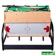 Weekend Игровой стол «Mini 3-in-1» (футбол, аэрохоккей, бильярд), интернет-магазин товаров для бильярда Play-billiard.ru. Фото 2