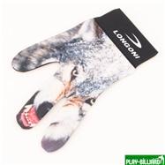 Longoni Перчатка бильярдная «Longoni Fancy Wolf», интернет-магазин товаров для бильярда Play-billiard.ru. Фото 1