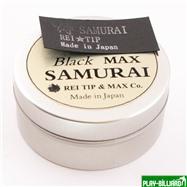 REI TIP & MAX Co. Наклейка для кия «Rei Samurai Black» MAX 14 мм, интернет-магазин товаров для бильярда Play-billiard.ru. Фото 2
