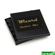 Wizard Наклейка для кия «Black Wizard» (M) 14 мм, 11 слоев, интернет-магазин товаров для бильярда Play-billiard.ru. Фото 2