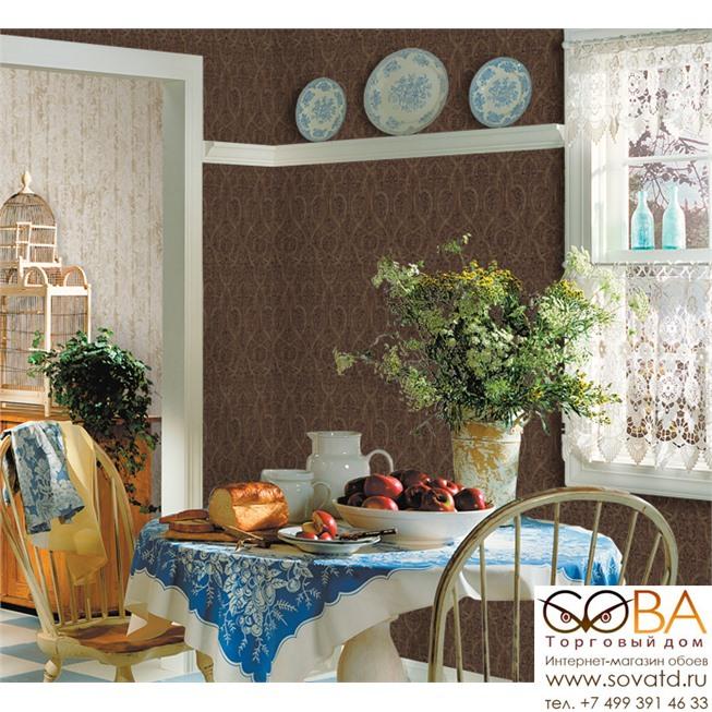 Обои Seabrook DA50209 Classic Elegance купить по лучшей цене в интернет магазине стильных обоев Сова ТД. Доставка по Москве, МО и всей России