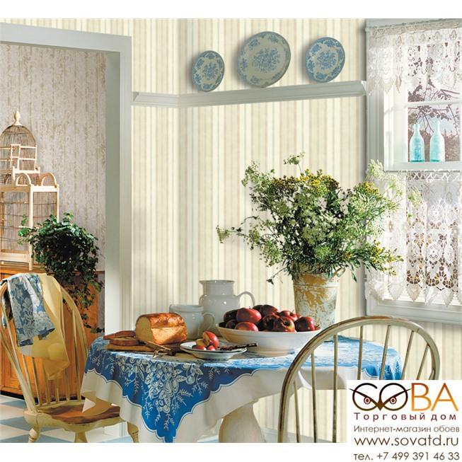 Обои Seabrook CY11702 Garden Diary купить по лучшей цене в интернет магазине стильных обоев Сова ТД. Доставка по Москве, МО и всей России