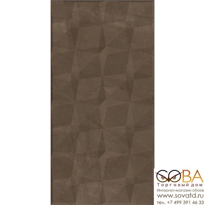 Декор Creto  Pulpis Brown W M/STR 31x61 NR Glossy 1 купить по лучшей цене в интернет магазине стильных обоев Сова ТД. Доставка по Москве, МО и всей России