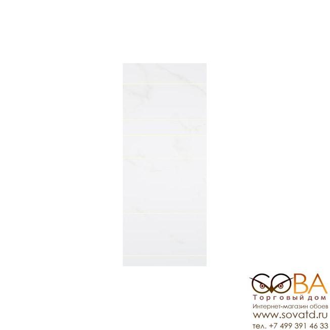 Декор Creto  Cavalcade White 02 25х60 купить по лучшей цене в интернет магазине стильных обоев Сова ТД. Доставка по Москве, МО и всей России