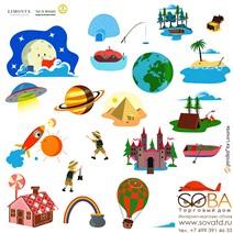 Наклейки Limonta SH0103 Play купить по лучшей цене в интернет магазине стильных обоев Сова ТД. Доставка по Москве, МО и всей России