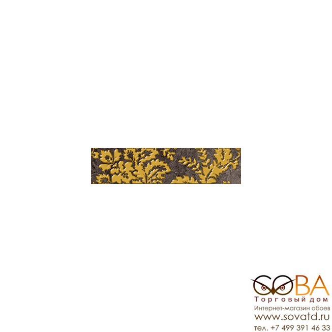 Бордюр Digio  коричневый (DG1C111) 6х25 купить по лучшей цене в интернет магазине стильных обоев Сова ТД. Доставка по Москве, МО и всей России