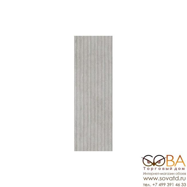 Декор Villeroy&Boch  Ombra Grey 3D Matt.Rec. 30x90 купить по лучшей цене в интернет магазине стильных обоев Сова ТД. Доставка по Москве, МО и всей России