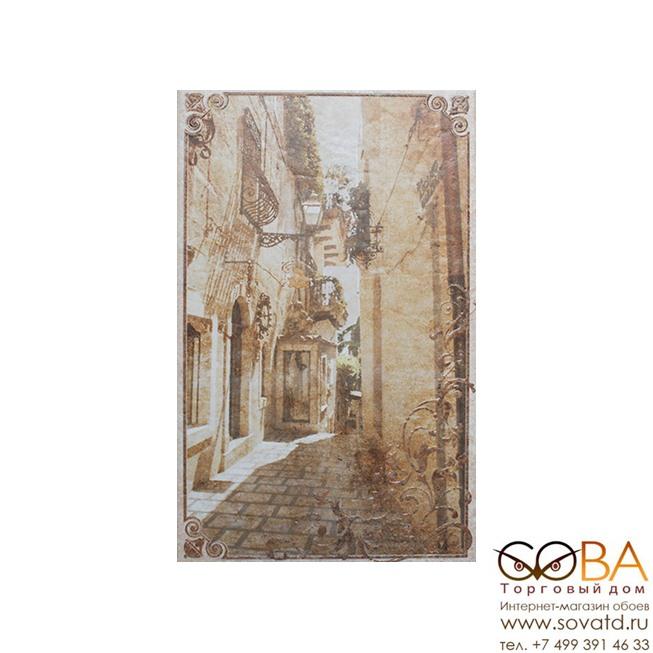 Декор Palermo beige 01  25х40 купить по лучшей цене в интернет магазине стильных обоев Сова ТД. Доставка по Москве, МО и всей России