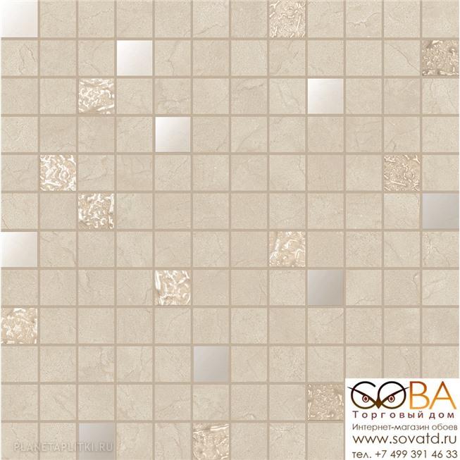 Мозаика Ibero  Mosaico Selecta Crema Marfil 30 x 30 купить по лучшей цене в интернет магазине стильных обоев Сова ТД. Доставка по Москве, МО и всей России