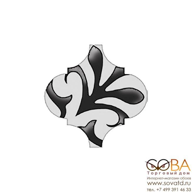 Декор Арабески  глянцевый орнамент OS\A33\65000 6,5х6,5 купить по лучшей цене в интернет магазине стильных обоев Сова ТД. Доставка по Москве, МО и всей России