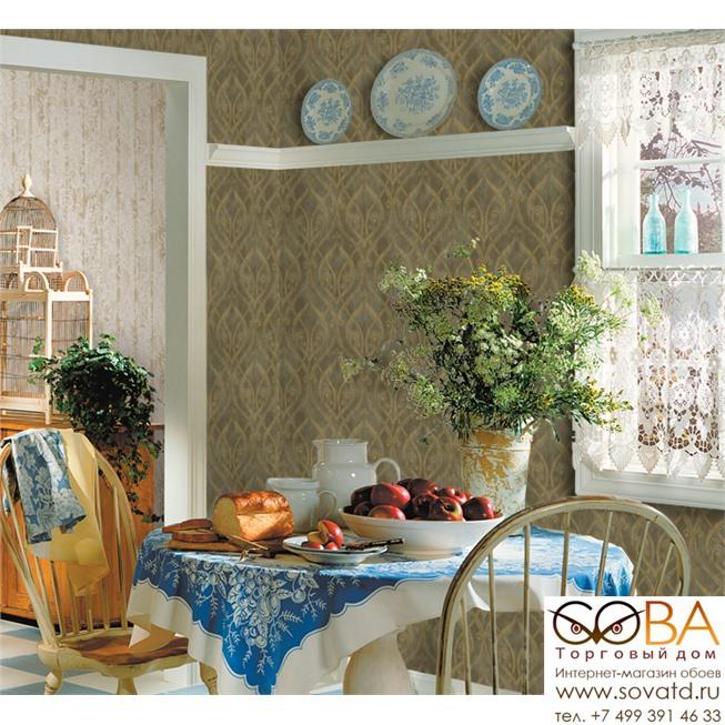 Обои Seabrook TN61000 Lucia купить по лучшей цене в интернет магазине стильных обоев Сова ТД. Доставка по Москве, МО и всей России