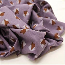 Лисы на фиолетовом (утепленная)