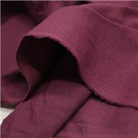 Конопляная ткань сливового цвета #63