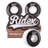 Комплект колес для скейтборда SB, 52*32, белый/черный, 4 шт.