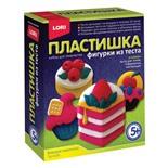 Набор для изготовления фигур из теста Пластишка Вкусные Пирожные Тдл-026