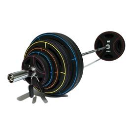 Штанга олимпийская 180 кг (диски-TPU)