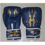 Перчатки боксерские Pak Rus, иск. кожа , 8 OZ, PR-11-015 (синий)