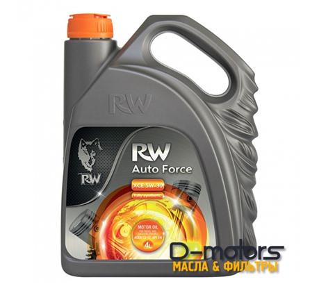 Моторное мало Rw Auto Force Xce 5w-30 (4л.)