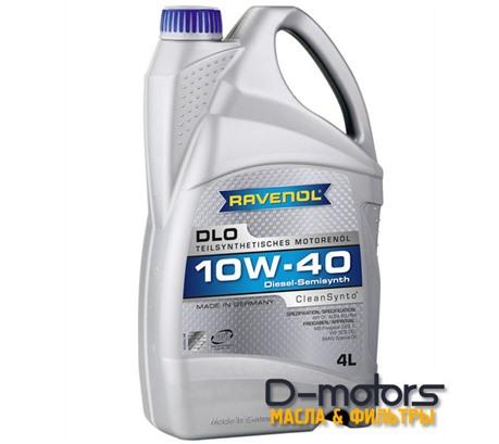 Моторное масло Ravenol DLO 10W-40 (4л.)