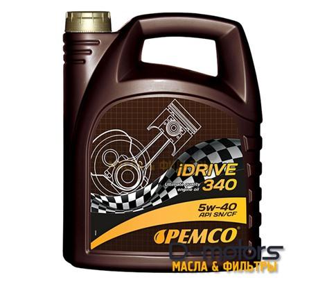 Моторное мало Pemco Idrive 340 5w-40 (5л.)