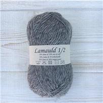 Пряжа Lamauld Серый тёплый 6940, 100м/50г, CaMaRose, Gra brunmeleret