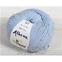 Пряжа Gepard Garn Athena шёлк 710 голубой