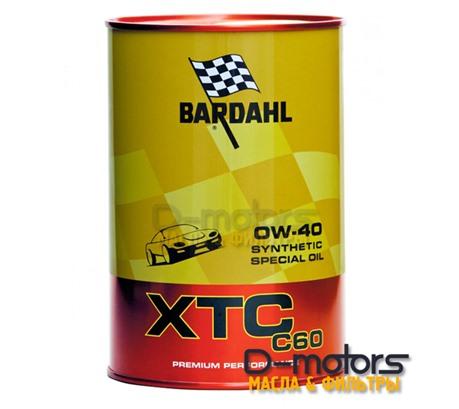 Bardahl XTC C60 0W40 (1л)