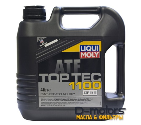 LIQUI MOLY TOP TEC ATF 1100 (4л.)