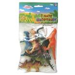 Набор фигурок 1TOY В мире животных Динозавры 6 шт Т50484