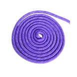 Скакалка для художественной гимнастики RGJ-103 pro, 3 м, фиолетовый с люрексом