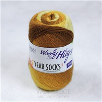 Пряжа YEAR SOCKS, 03 Март, 400м в 100г, Woolly Hugs