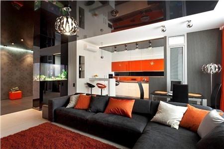 Хай-Тек в гостиной комнате – это легко и просто во всех смыслах