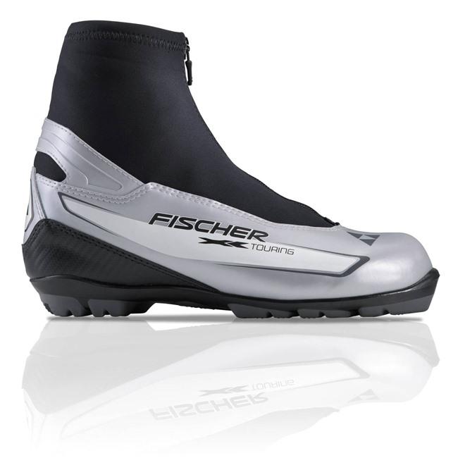 Ботинки NNN Fischer XC TOURING SILVER, интернет-магазин Sportcoast.ru