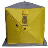Зимняя палатка Куб Helios 1,8х1,8 (серый/оранжевый)