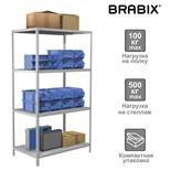Стеллаж металлический Brabix MS KD-185/60-4 (S240BR146402)