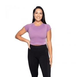 Спортивная футболка Better Bodies Astoria seamless tee, пурпурный