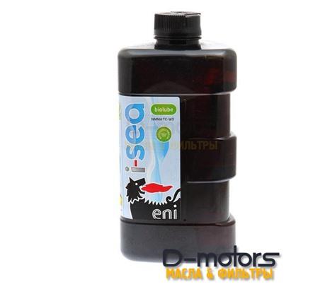 Моторное масло Eni i-Sea Biolube 2T (1л) для 2-тактных  подвесных лодочных двигателей