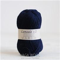 Пряжа Lamauld ВМФ 6560, 100м/50г, CaMaRose, Marinebla