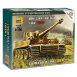 Сборная модель Звезда Тяжелый немецкий танк Т-VI Тигр (1:100) 6256