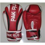 Перчатки боксерские Pak Rus, иск. кожа , 8 OZ, PR-11-014 (красный)