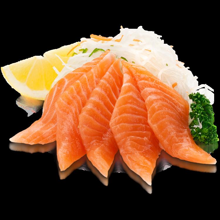 Сашими лосось
