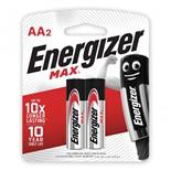 Батарейки алкалиновые Energizer Max LR06 (AA) 2 шт E300157000