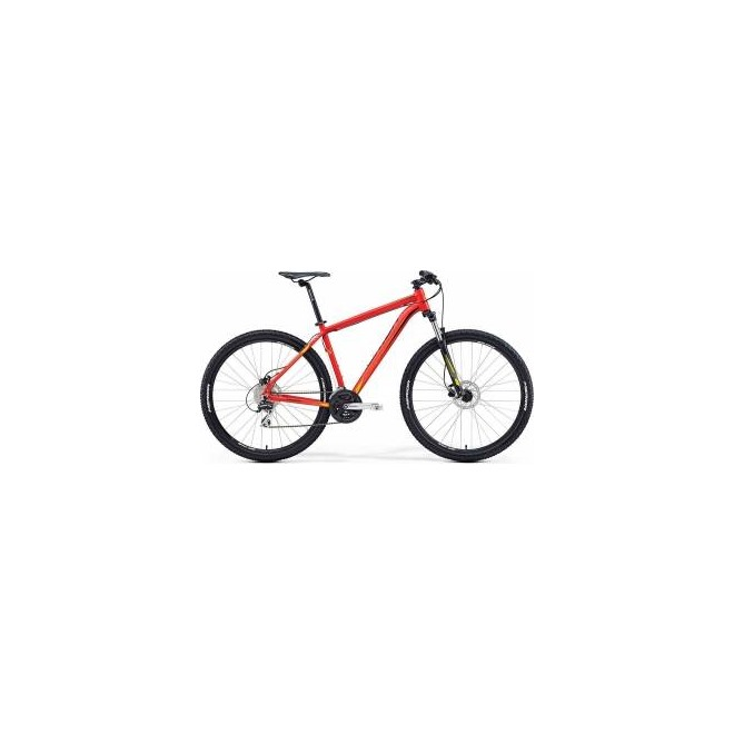 Велосипед Merida Big Nine 20D Matt Red/Yellow/Black (2016), интернет-магазин Sportcoast.ru