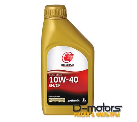 Моторное масло Idemitsu 10W-40 (1л.)