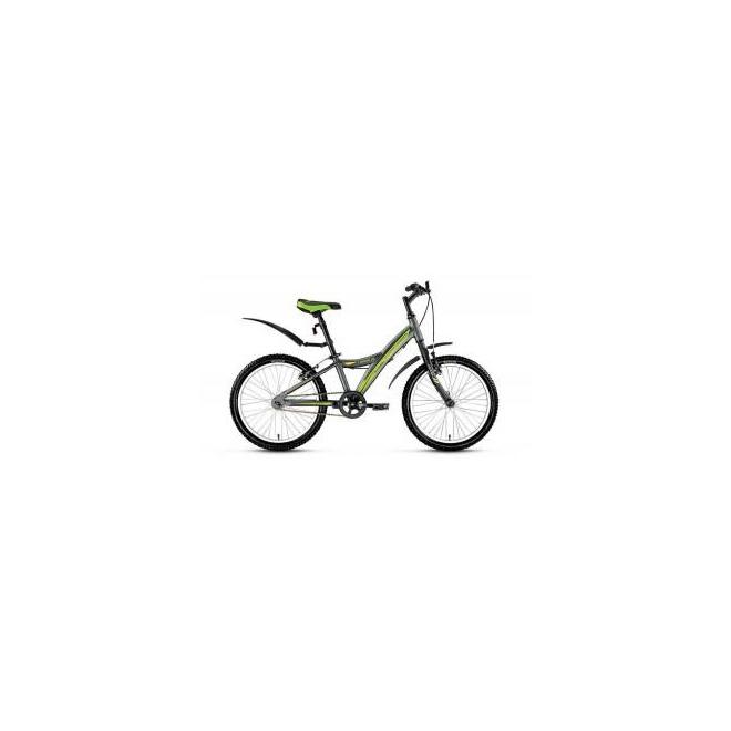 Велосипед Forward Comanche 1.0 20 (2017) Серый Матовый, интернет-магазин Sportcoast.ru