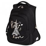 Рюкзак для девочек Brauberg Special I love Paris 20 л 229981